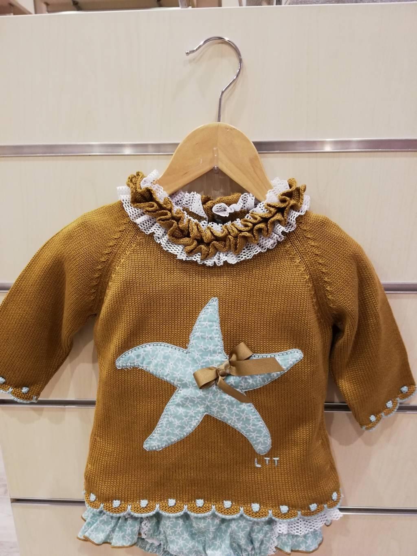 jersey niña estrella de mar lolittos