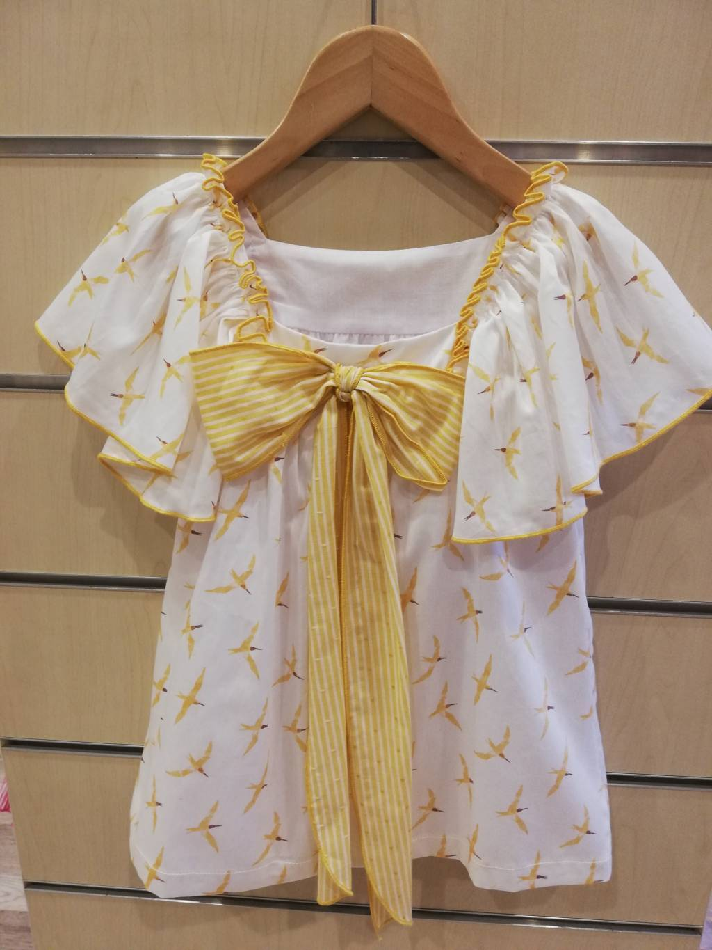 Vestido eve children amarillo