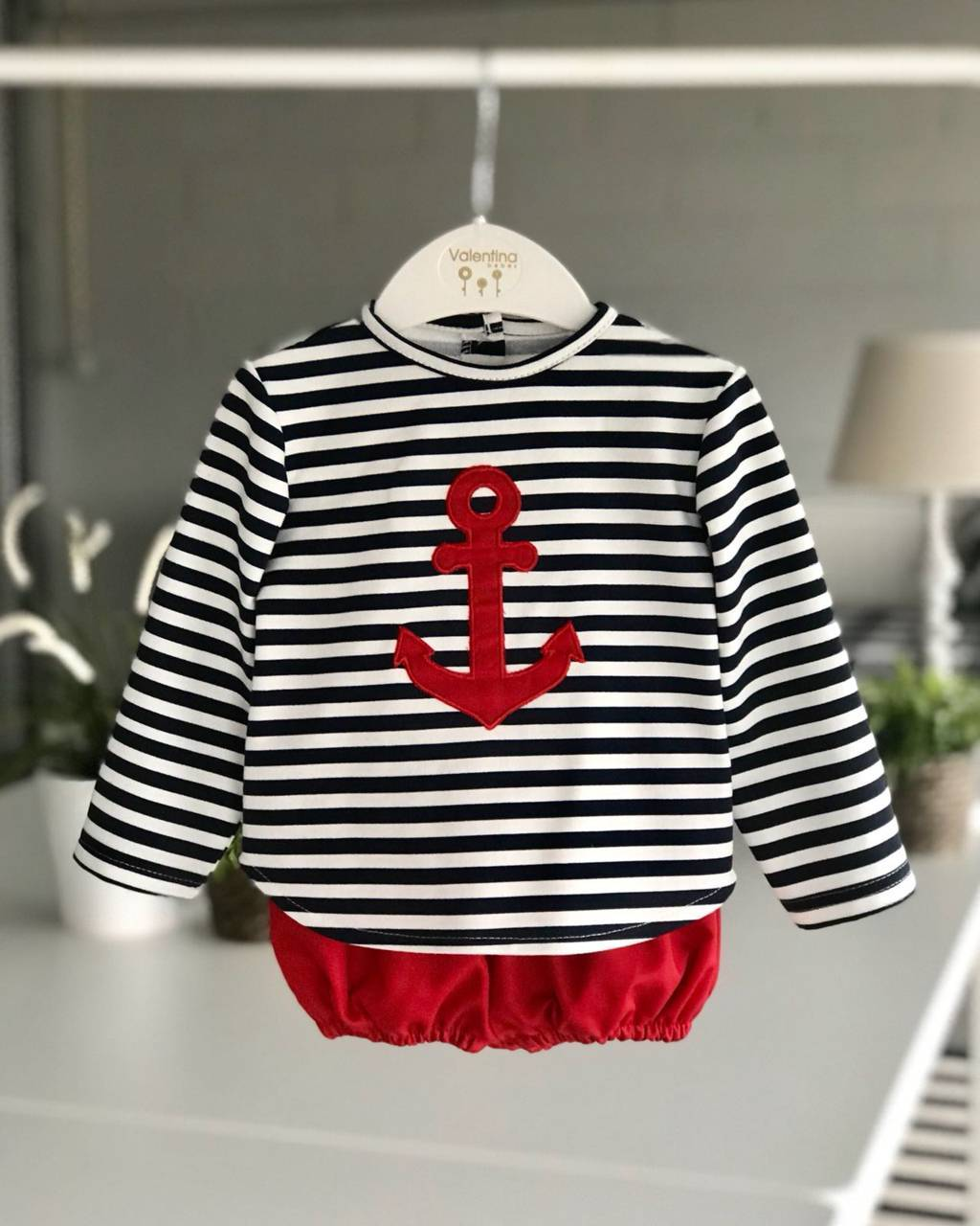Conjunto niño marinero valentina