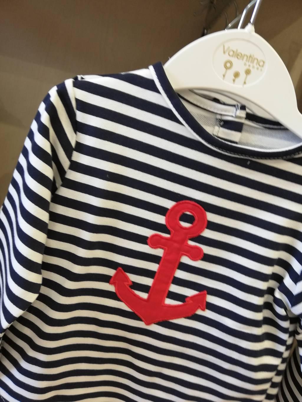 conjunto marinero en algodon