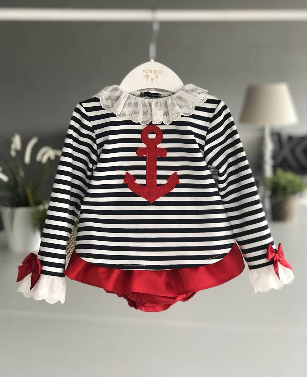 Conjunto marinero Valentina bebes