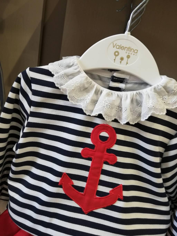Conjunto ranita marinero niña