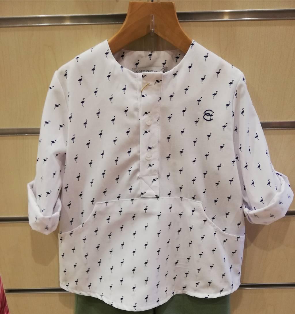 camisa flamencos