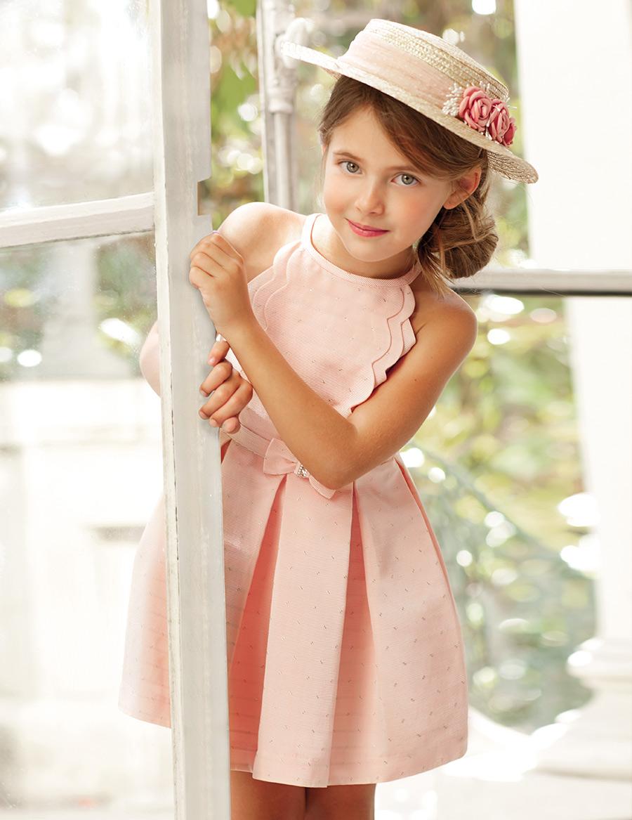 vestido otomán brillo