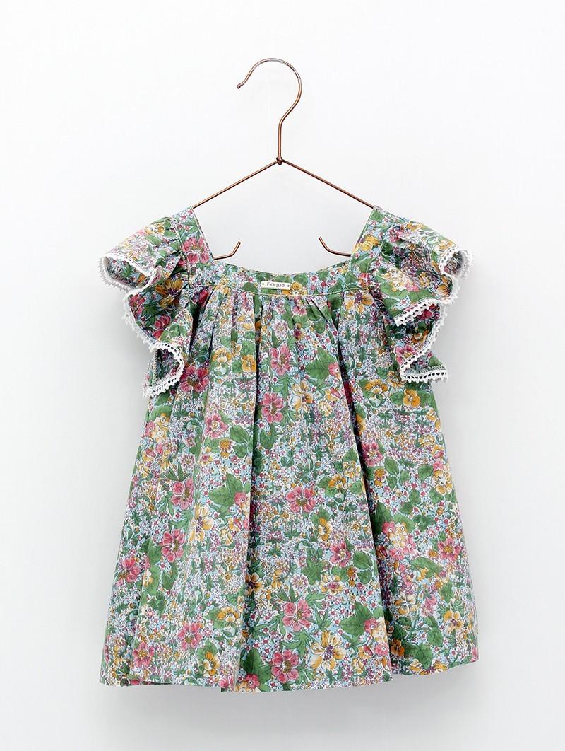 Vestido liberty flores
