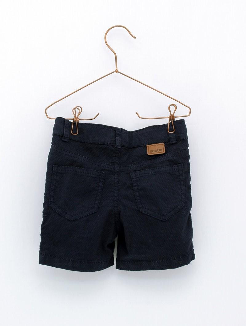 Vista trasera pantalon corto foque