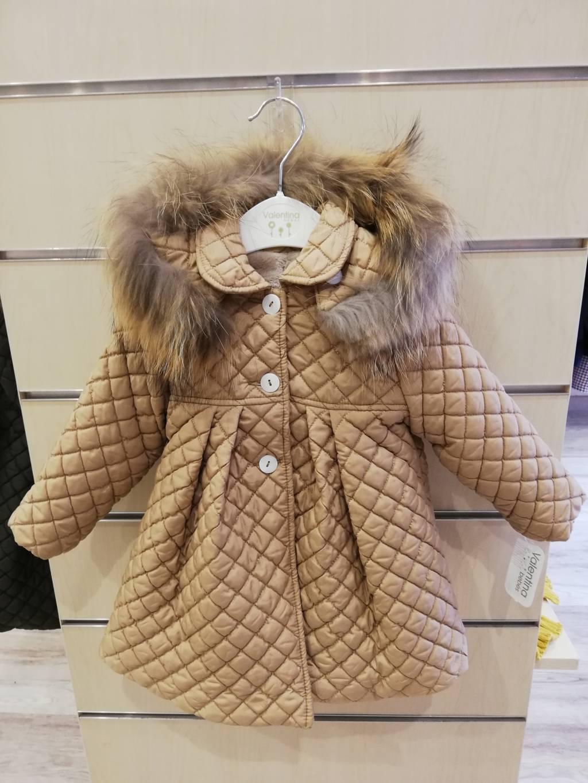 abrigo capucha valentina