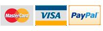Formas de pago- visa ,Maestro, MasterCard y paypal